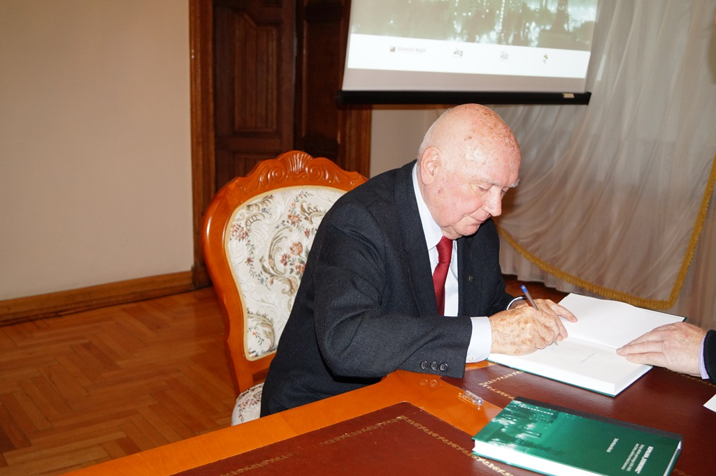 Stefan Wacław Bielecki, promocja książki - fot. MC