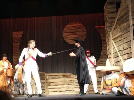 Spektakl Zorro - fot. MC