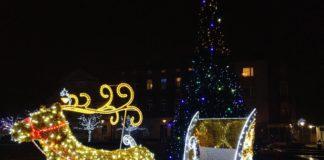 Ozdoby świąteczne w Czeladzi - fot. MC