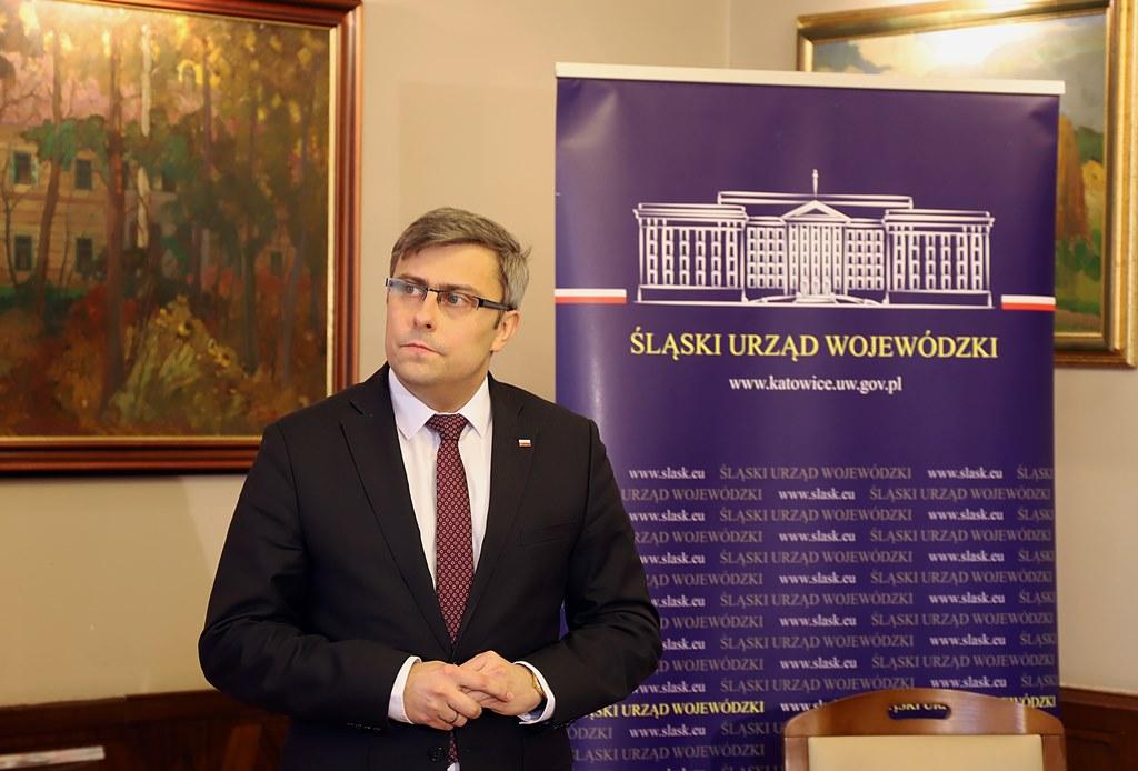 Wojewoda śląski Jarosław Wieczorek - fot. Śląski Urząd Wojewódzki w Katowicach