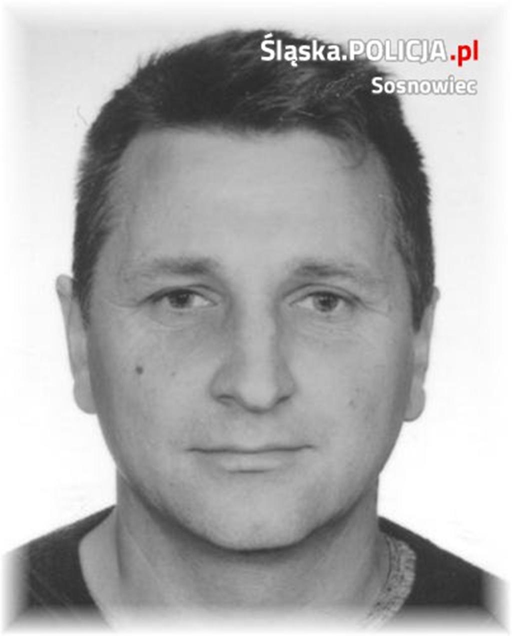 Zaginiony Józef Wojciechowski - fot. KMP w Sosnowcu
