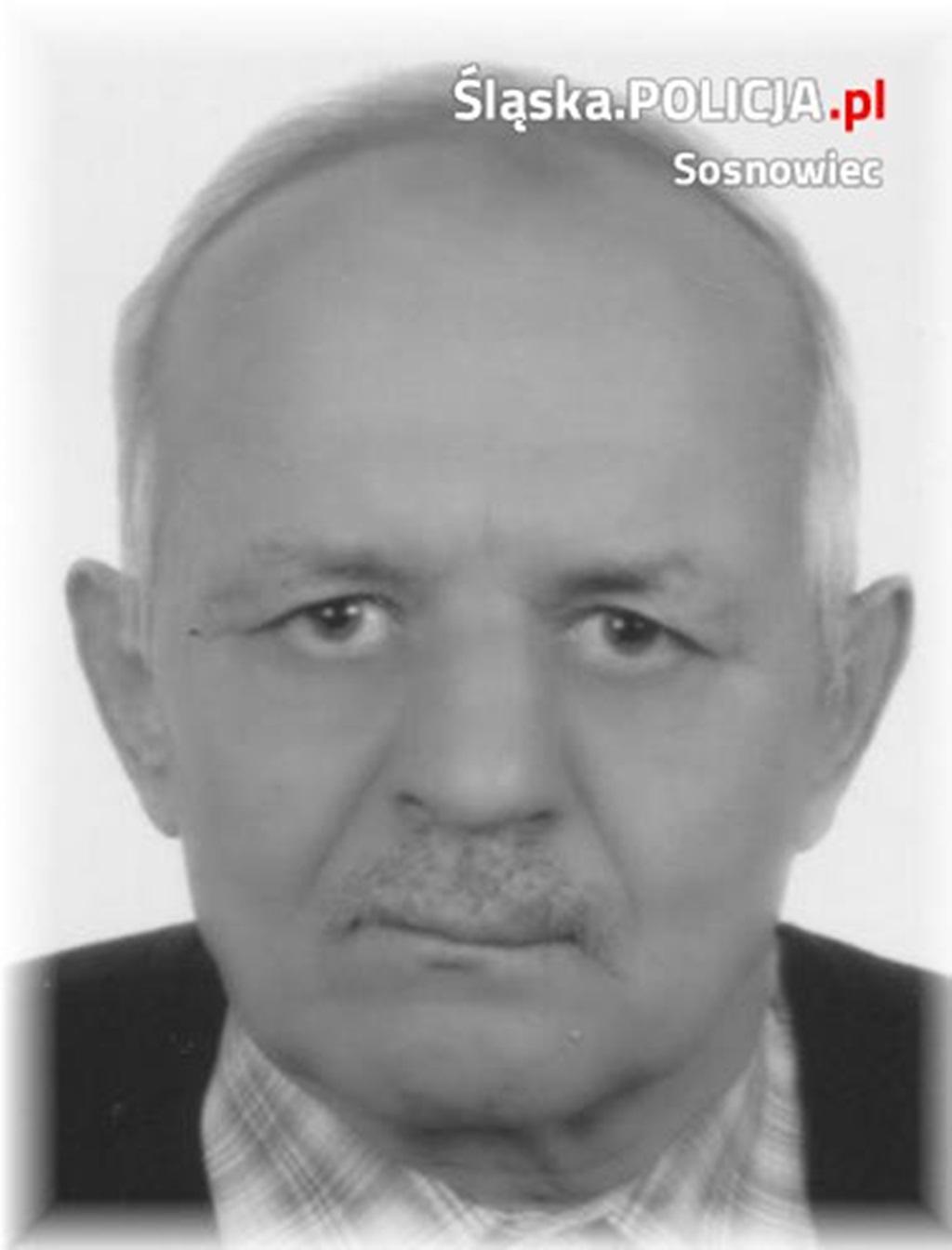 Zaginiony Henryk Sroka - fot. KMP Sosnowiec