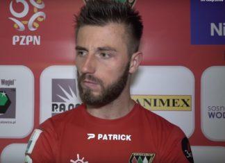 Wojciech Łuczak nie jest już zawodnikiem Zagłębia - fot. YouTube