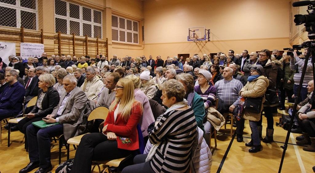 Spotkanie w sprawie opłaty adiacenckiej w Strzemieszycach - for. AR