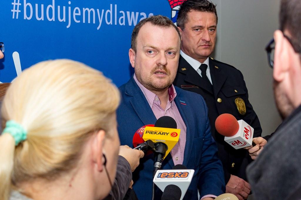 Ireneusz Kosielski nowym komendantem Straży Miejskiej w Sosnowcu - fot. Maciej Łydek/UM Sosnowiec