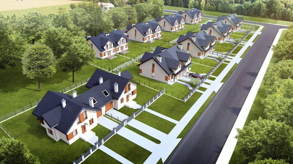 Nowe osiedla mieszkaniowe w Czeladzi - fot. UM Czeladź