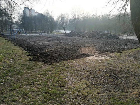 Remont Parku Grabek w Czeladzi – fot. UM Czeladź