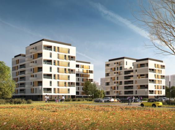 Wizualizacje nowego osiedla w dzielnicy Gołonóg – fot. Architekci APA R. MALINA