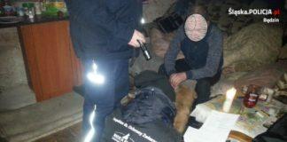 Pies czeka na adopcję - fot. KPP Będzin