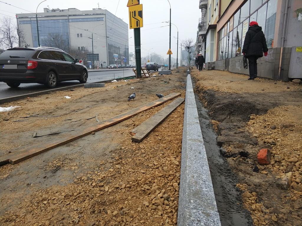 Remont ulicy 3 Maja Sosnowiec - fot. MC