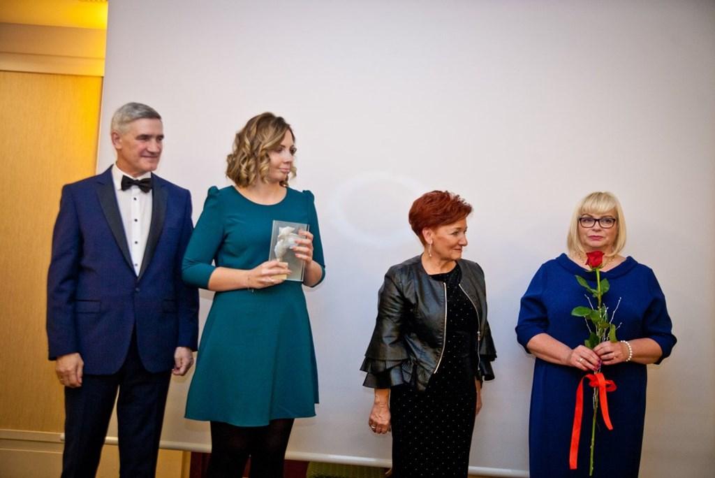Magdalena Majcher wyróżniana Pierścieniem Saturna – fot. UM Czeladź