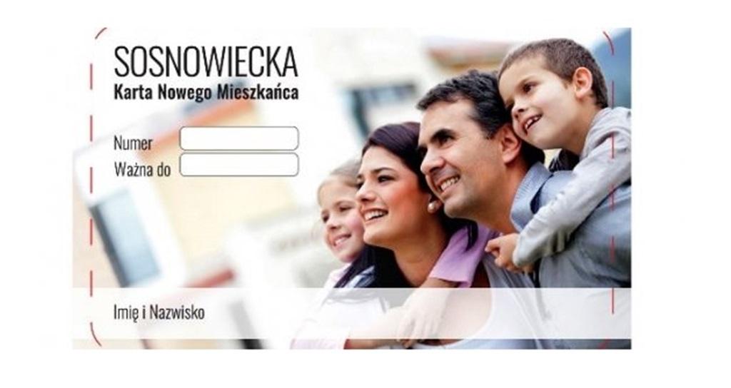 Karta Nowego Mieszkańca - fot. UM Sosnowiec