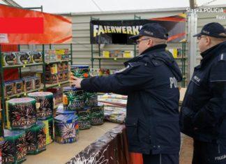 Petardy w Będzinie - fot. Policja Będzin