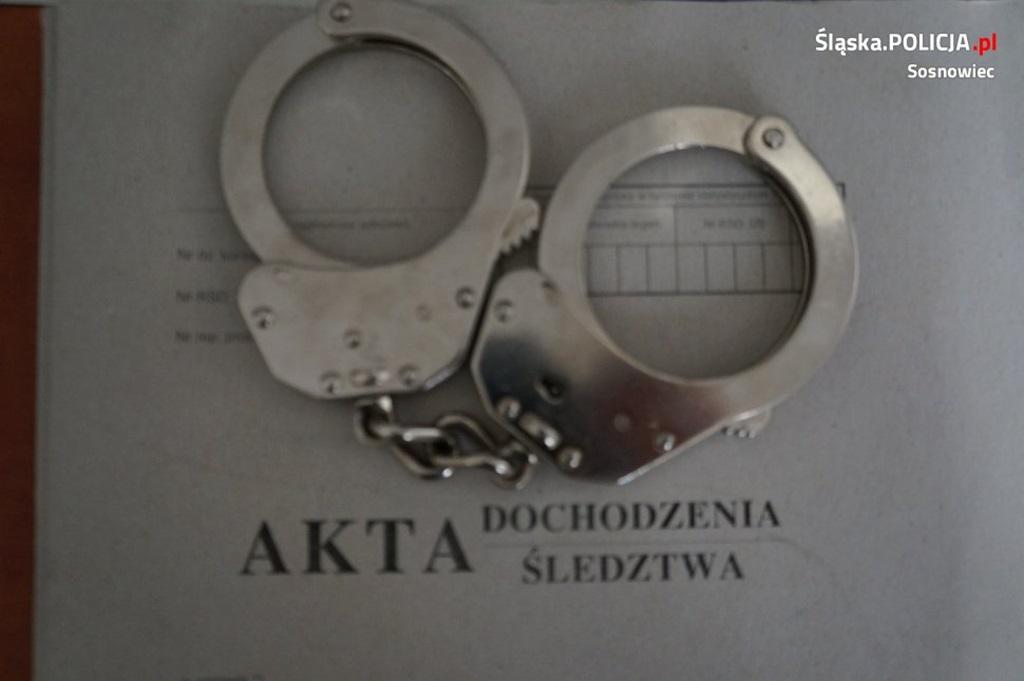 Hotelowy oszust - fot. KMP w Sosnowcu