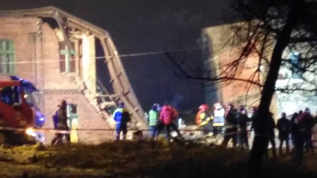 Katastrofa budowlana w Sosnowcu - fot. Sosnowiec998