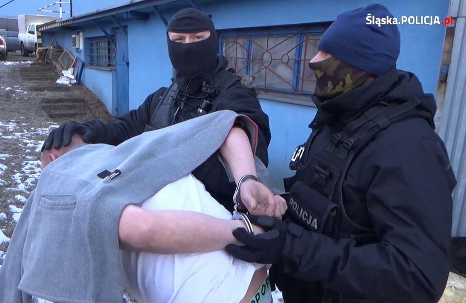 Policjanci zlikwidowali plantację narkotyków w Sosnowcu - fot. Policja