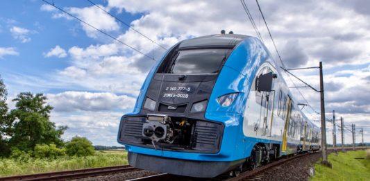 Pociąg – fot. Koleje Śląskie