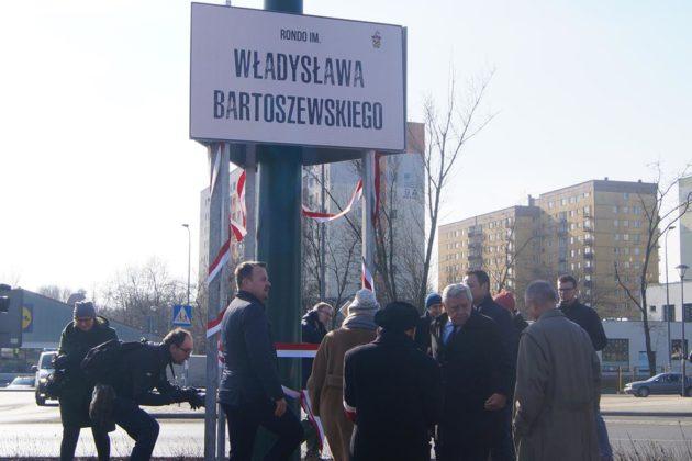 Rondo prof. Władysława Bartoszewskiego - fot. MC