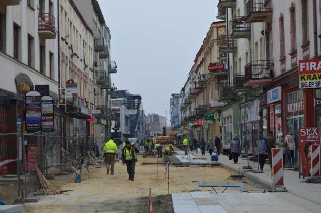 Przebudowa ulicy Modrzejowskiej w Sosnowcu – fot. MZ