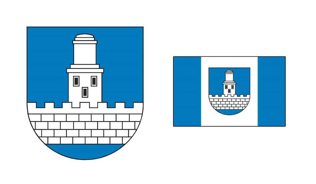 Herb i flaga Czeladzi - fot. Arch. TZ