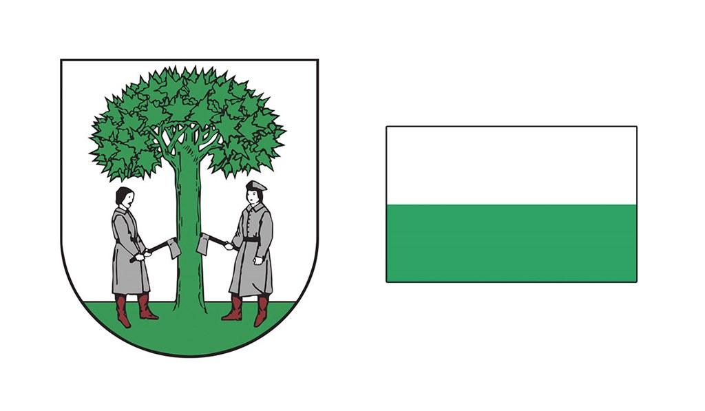 Herb i flaga Jaworzna - fot. Arch. TZ
