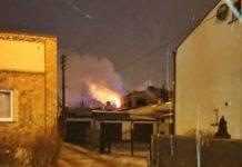 Pożar w Sosnowcu - fot.Sosnowiec998
