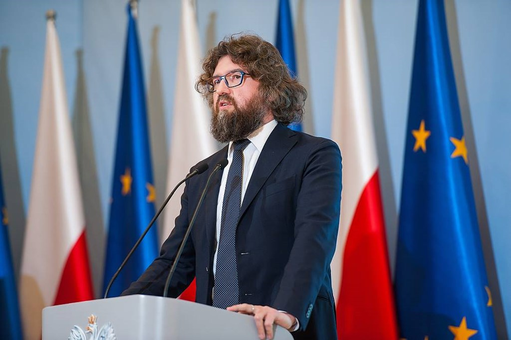 Wiceminister Piotr Woźny - fot. W. Kompała/KPRM