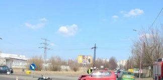 Wypadek w Czeladzi - fot. Czeladzianie 2.0/Facebook