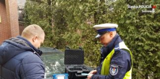 Policja - fot. KMP Sosnowiec