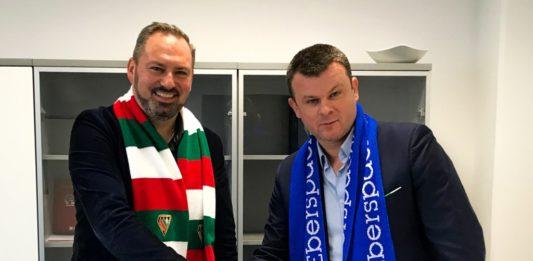 Nowy sponsor Zagłębia Sosnowiec - fot. mat. pras.