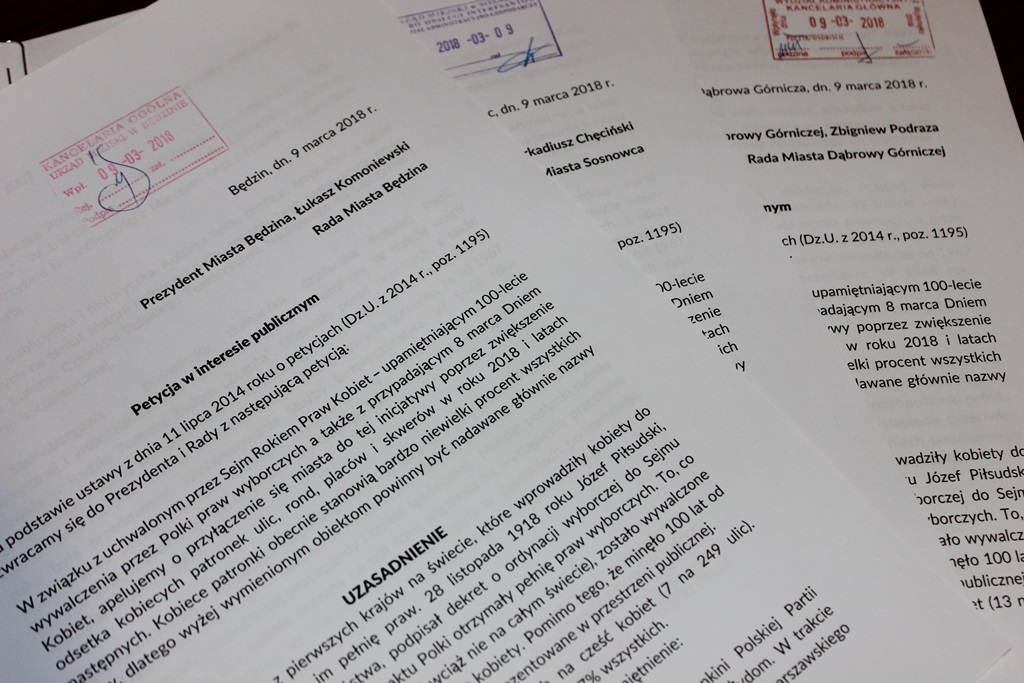 Petycja Partii Razem - fot. mat.pras.