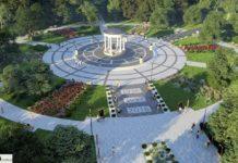 Wizualizacja Parku Zielona - fot. UM Dąbrowa Górnicza