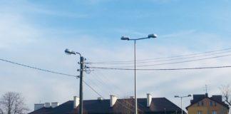 Oświetlenie uliczne w Porębie - fot. UM Poręba