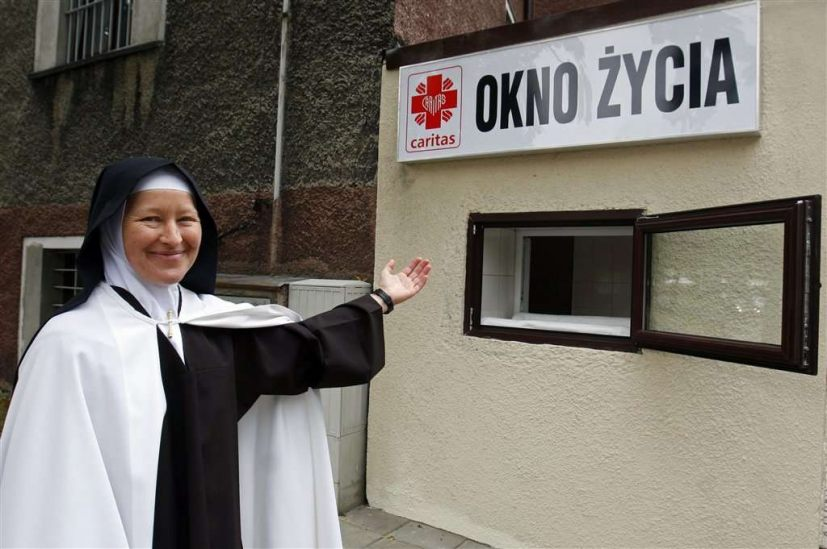 Okno życia - fot. Caritas Diecezji Sosnowieckiej