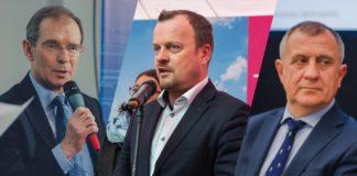 Prezydenci Gliwic, Sosnowca i Tychów - fot. Arch TZ/W. Mateusiak