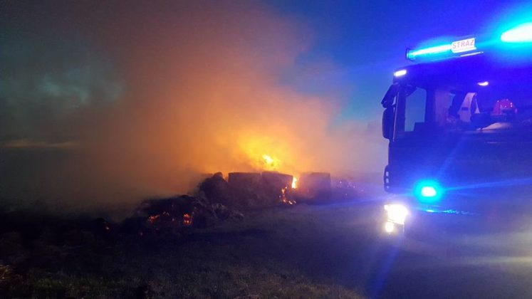Pożar w dzielnicy Bugaj - fot. Sławomir Żmudka