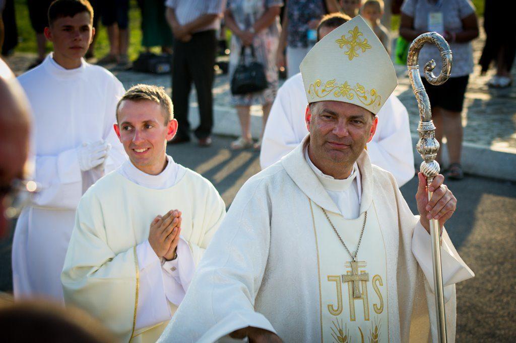 Biskup Grzegorz Kaszak – fot. Maciej Łydek/UM Sosnowiec