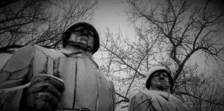 Pomnik upamiętniający żołnierzy Armii Czerwonej w Łośniu/Dąbrowa Górnicza - fot. Igor Sokołowski