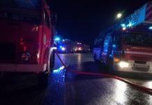 Pożar - fot. OSP Kromołów