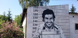 Mural z podobizną Pablo Escobara - fot. Tomasz Grząślewicz