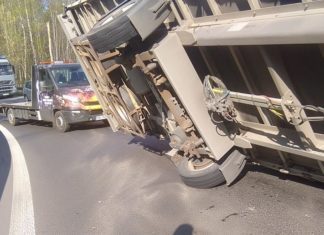 Wypadek na DK 94 - fot. Dąbrowa Górnicza News/Facebook