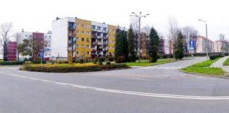 W miejscu skrzyżowania powstanie rondo - fot. Łukasz Komoniewski/Facebook