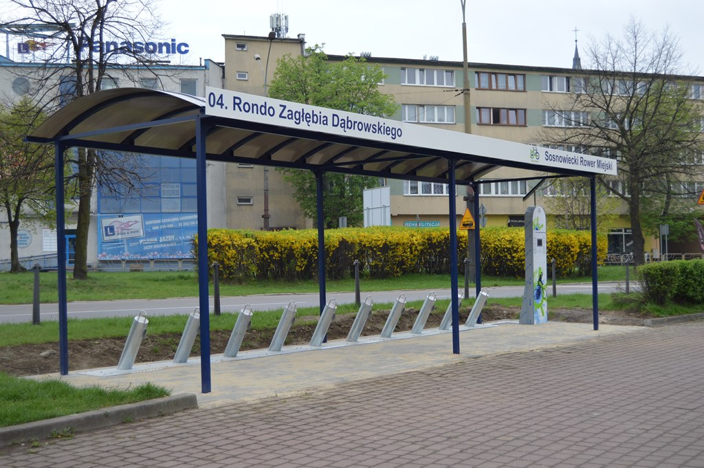 Sosnowiecki Rower Miejski - fot. MZ