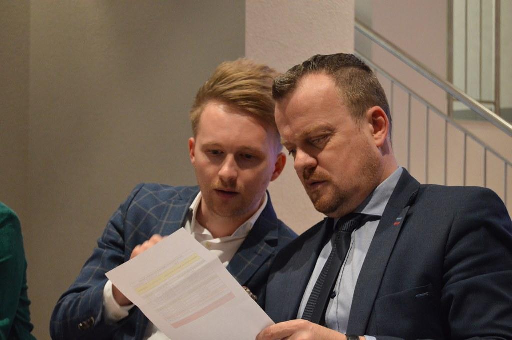 Jeremiasz Świerzawski i Arkadiusz Chęciński – fot. MZ