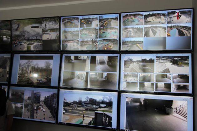 Centrum Monitoringu Miejskiego w Sosnowcu - fot. MC