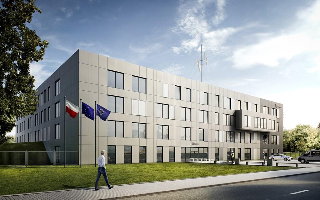 Nowa Komenda Miejska Policji w Sosnowcu – fot. Demiurg Poznań