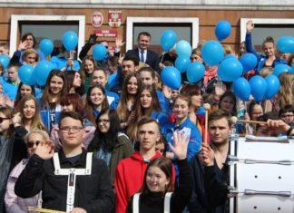 Niebieski marsz - fot. mat. pras.