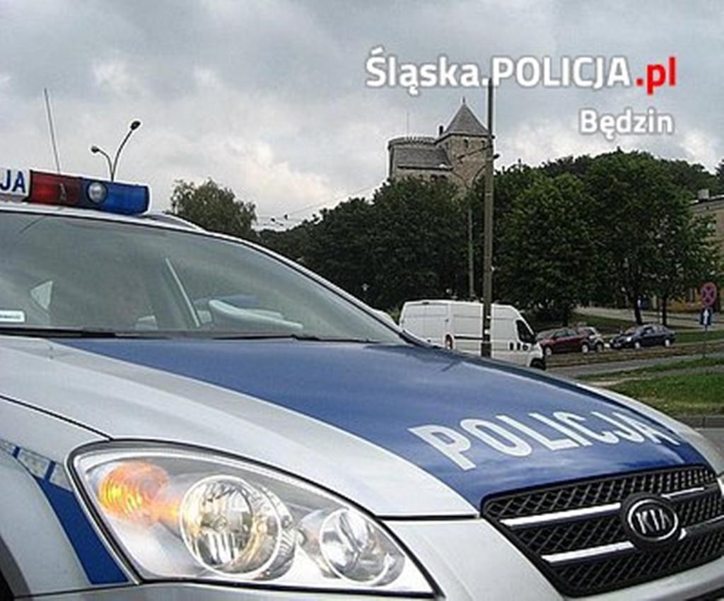 Policja Będzin - fot. KPP w Będzinie