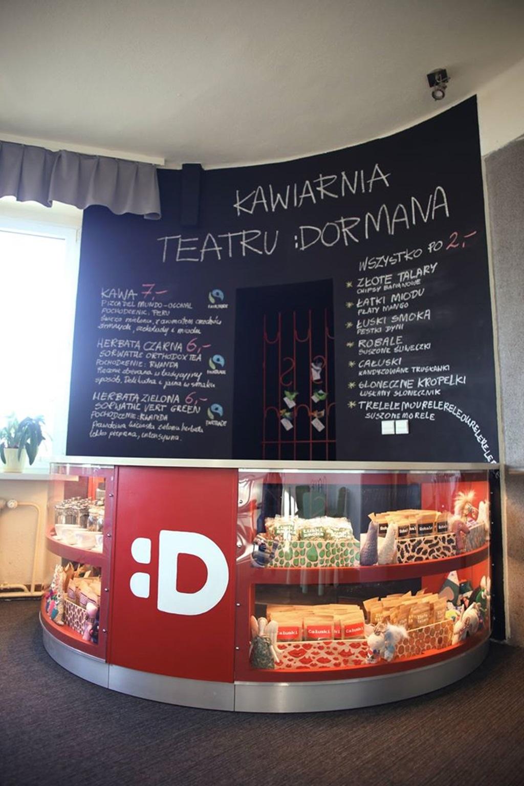 Kawiarnia Teatr Dormana - fot. Teatr Dormana