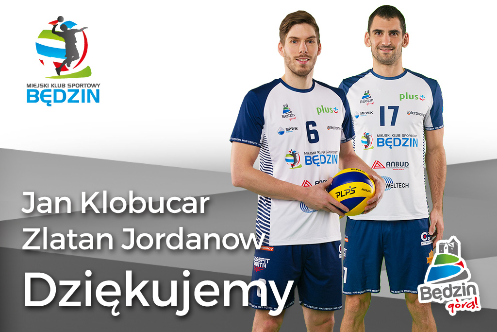 Jan Klobucar i Zlatan Jordanow opuszczają MKS Będzin – fot. MKS Będzin